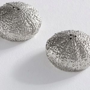 Pottery barn sea urchin salt and pepper shakers